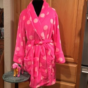 PINK robe and VS PINK mini dog